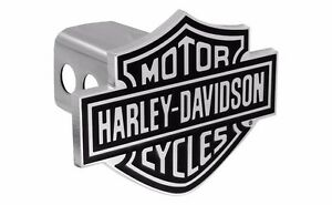 Harley Davidson 3d Bar Shield Trailer Tow Hitch Cover Plug Cap 2 Inch Post