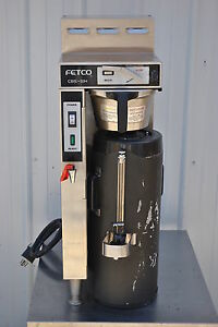 Fetco Cbs 51h15 Coffee Brewer With Tpd 15 Thermal Dispenser
