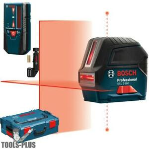 Self leveling Cross line Laser Lr 6 Line Receiver Bosch Tools Gcl2 160 lr6 New