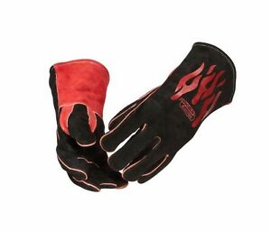 Genuine Lincoln Electric K2979 all Welding Traditional Gloves Mig Stick Leather