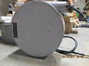 Enclosed Spring Retractable Hose Reel 3 8 X 50 Military Issue Reelcraft