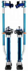 Drywall Stilts Adjustable Heel Plates Skywalker Finishing Painting New Blue