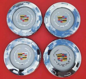 4 Pcs New 07 14 Cadillac Escalade Colored Replacement Wheel Center Caps 9596649