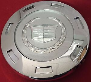 1 Pcs 2007 2014 Cadillac Escalade Plain Crest 22 Wheel Center Cap 9596649 New