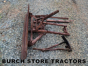 Official Ih Front Push Grader Blade For Farmall Cub Tractors