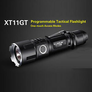 Klarus Xt11gt Xhp35 Hd E4 2000lm Tactical Outdoor Led Flashlight 18650