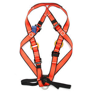 Outdoor Kid Child Climbing Safety Belt Full Body Fixing Seat Strap Harness Hold