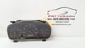2000 Honda Accord Speedometer Instrument Gauge Cluster Assembly 160160 Miles