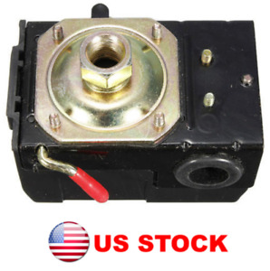 Air Compressor Pressure Switch Control Valve 95 125 Psi Single Port Us Stock