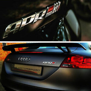 New 3d Abs Apr Stage Iii Logo Car Emblem Badge Sticker Decal Fit All Cars