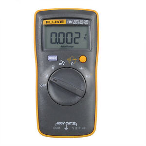 Fluke F101 600v Cat Pocket Digital Multimeter Auto Range