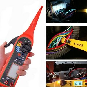 0 380v Multi function Auto Circuit Tester Multimeter Lamp Car Repair Tool Autom