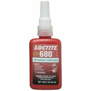 Loctite 50 Ml 680 High Strength Retaining Compound