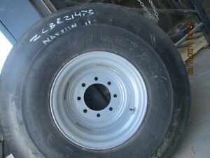 11 00 16 3 Rib Goodyear Tractor Tires W Rims And Discs
