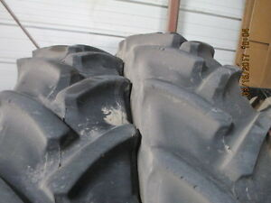 380 80r38 Mitas Tractor Tire W Rim For Case Ih Magnum 305