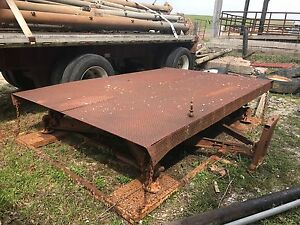 8 Ft X 12ft Toledo Steel Top Truck Scale Axle Scale Car Scale