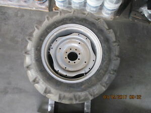 13 6 28 Alliance Tractor Tire With Rim And Disc For Farmall
