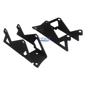 Car Truck Metal Dual Spot Light Window Pillar Bracket For 2007 13 Jeep Wrangler