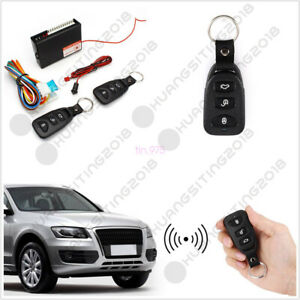 Car Autos Alarm Door Lock Unlock Vehicle Keyless Entry System Remote Central Kit