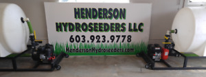 Henderson 125 Gallon Hydroseeder 2018 Models Now Available