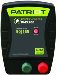 Patriot Fence Energizer Electric Charger Solar 2 0 Joule Shock Power Voltage