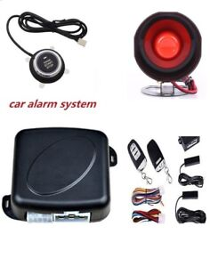 Pke Autos Suv Alarming System Keyless Engine Ignition Push Starter Button Kit