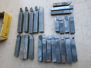 60 Carbide Tipped Single Points Lathe Bits 516 3 8 7 16 G m super Tool Co
