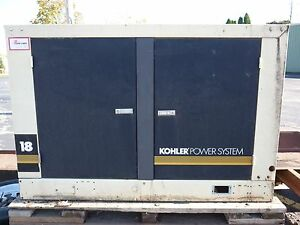Kohler 16k Home Backup Generator Model 18ry62