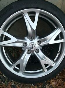 19 Nissan 370z Forged Rays Staggered 5x114 3 Rare Super Light