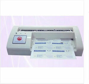 Name Card Cutter 300b Automatic Name Card Slitter business Card Cutting Machine