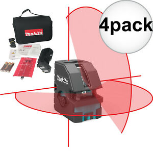 Makita Sk103pz Self leveling Combination Cross line point Laser 4x New