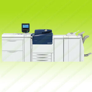 Xerox Versant 80 Digital Color Production Copier Printer Scanner Finisher 80ppm