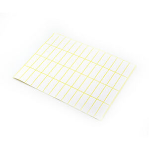 Self Adhesive Sticky White Label Writable Name Stickers Blank Post Note Decals