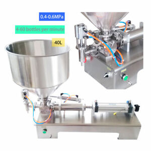 Automatic Filling Machine 100 1000ml For Honey cream sauce cosmetic tooth Paste