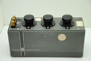 Decade Mica Capacito Tester Model 1091 amm