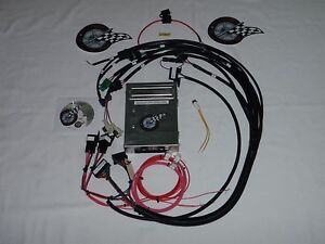 Tbi Wiring Harness W Ecm 350 Sbc 454 Bbc Tbi Engine Swap