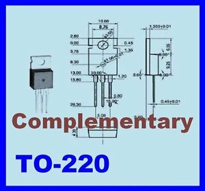 10x 2sc1096 10x 2sa634 Transistor For Audio Frequency Provide Tracking Number