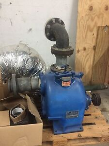 Gorman Rupp 4 Centrifugal Self Priming Water Pump Model T4a60b