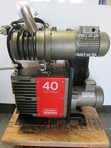 Edwards E2m40 High Vacuum Pump With Eh 250 Booster
