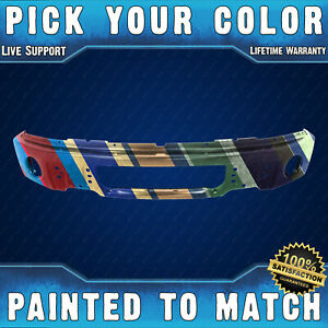 Painted To Match Front Bumper Face Bar For 2009 2014 Ford F150 W Fog 09 14