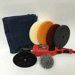 Hi Buff Random Orbital Polisher Starter Kit Compare To Rupes And Flex