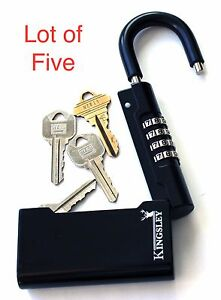 Guard a key Key Storage Lock lot Of 5 Real Estate Lock Box Realtor Lockbox