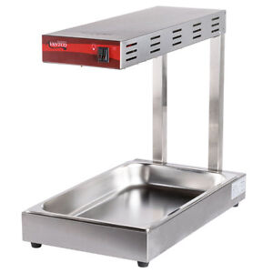 Freestanding Infrared French Fry Warmer Dump Station 1000w 120v Concession Stand