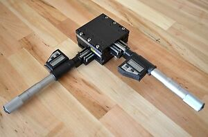 Parker Daedal Mx80m X y Stage Linear Actuator With Digital Micrometers Thk Cnc