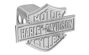 Harley Davidson 3d Monotone Bar Shield Emblem Trailer Tow Hitch Cover Plug