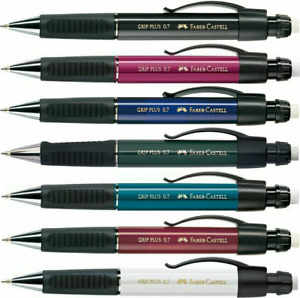 Faber castell Grip Plus 1307 Mechanical Pencil 0 7mm All Colours Available