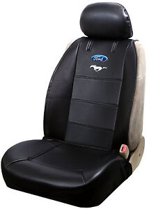 Ford Mustang Logo Sideless Seat Cover For Trucks Cars Vans And Suvs