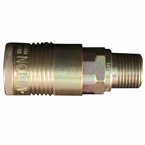 1 5 Milton 1816 Coupler 1 2 Male Npt G style Air Coupler Free S