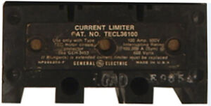 Tecl36100 Current Limiter Mag Break 3 Pole 600v 100 Amp 100kaic