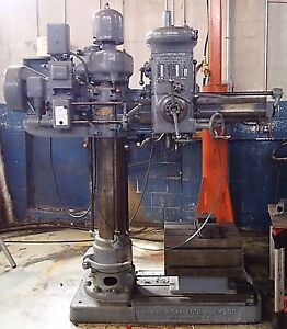 American Tool Works Radial Arm Drill Press 3 X 9 Column Offers Welcome